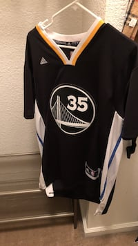 Golden state warriors kevin durant adidas nba jersey shirt Pacheco, 94553