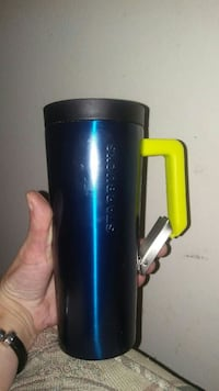 Stainless steel Starbucks clip handle cup