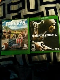 two Xbox One game cases Denver, 80221