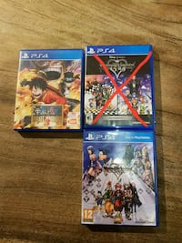 four assorted PS4 game cases Singapore, 424943