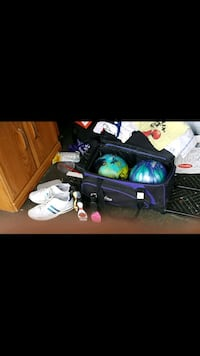 bowling balls shoes bag wrist guard etc West Des Moines