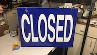 Open/closed sign 24x18 Vienna, 22181
