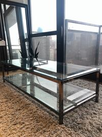 Stylish Large Glass Coffee Table