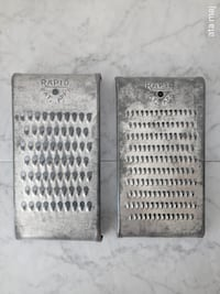 2 Antique Rapid Graters Surrey