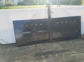 Trailer hitch platform