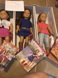 New in box displayed only AMerican Girl Dolls Evans, 30809