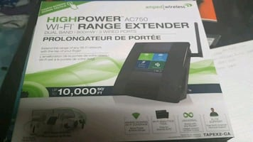 Amped wireless wifi extender