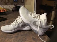 pair of white Nike running shoes Barrie, L4M 5E5