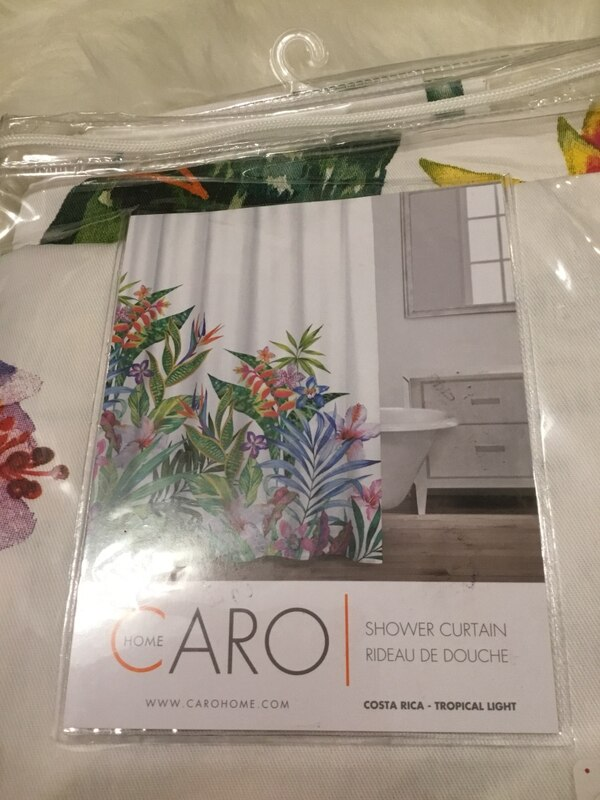 Used CARO Home Shower Curtain 72x72 For Sale In Sandy Springs