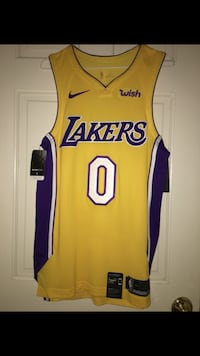 Lakers Kuzma Icon Authentic Jersey (Men's Small) 2269 mi