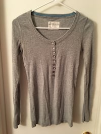 Gray aeropostale scoop-neck sweatshirt Hampton, 23666