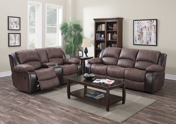 Used Reclining Sofa Loveseat Set On Sale For Sale In Vacaville