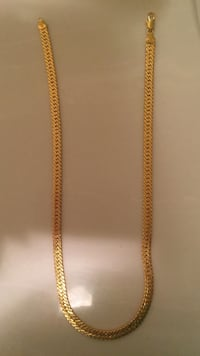 Gold filled unisex man - women chain. 15.7 inch length Vaughan, L6A 4K6