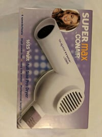 Conair Supermax hairdryer 1625 watt Burnaby, V5H 3B3
