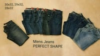 MENS JEANS PERFECT SHAPE! Hagerstown, 21740