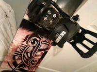 Ride snowboard with Salomon pact bindings Surrey, V3T 4M4