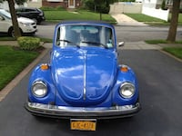 Volkswagen - The Beetle - 1978 convertible original paint 61k miles new stereo and a/c Hicksville, 11801