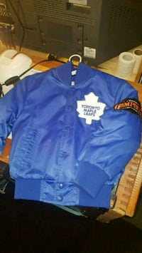 Maple Leafs jersey and jacket