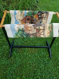 Vintage Needlepoint &Stand  Fort Erie, L0S 1N0