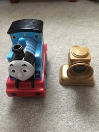 Thomas the train-moves by itself and follows laser Sterling, 20164