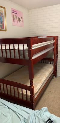 brown wooden bunk bed with mattress Somerset, 08873