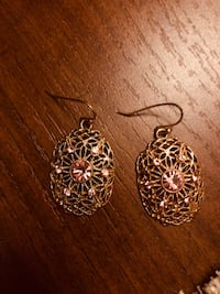 Pink and gold earrings  Temecula, 92591