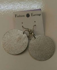 silver round drop hook earrings Ahmedabad