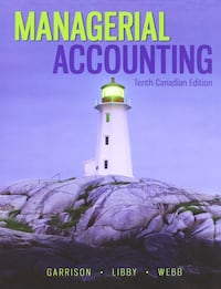 Managerial accounting book Toronto, M2M