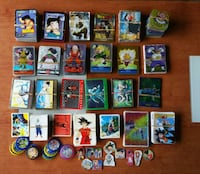 DRAGON BALL CAMBIO CROMOS BOLA DE DRAGON - CAMBIO