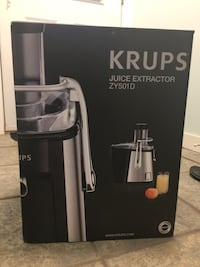 Krups juice extractor/Brand New Burnaby, V5C 3J8