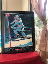 Brook Temple Skiing Poster Print Editions Limited, Suzanne Anderson-Carey Germantown
