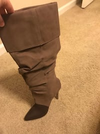 Size 7 Michael Antonio boots only worn once.  Antioch, 94509