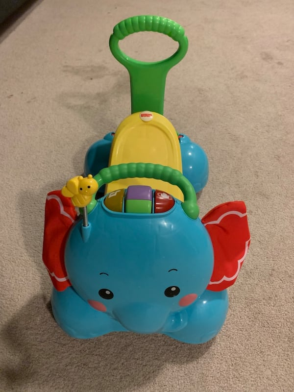 Fisher Price bounce stride & ride elephant 18bdbb76-fc7c-4b4c-a074-48c48a32ae3a