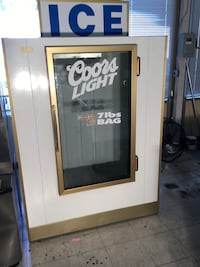 White and black wooden framed glass door Springfield, 22151
