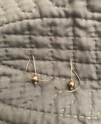 Sterling Silver Earrings w/Silver Spun Around 3 Small Silver Balls Fountain Valley, 92708