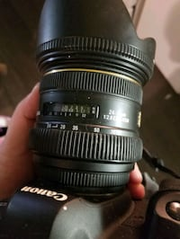 *SIGMA 24-70MM F2.8 IF EX DG HSM LENS FOR CANON**