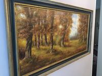 """Vintage large size 54""""X30""""oil painting on canvas by Hungarian artist. Richmond Hill, L4E 3W2"""