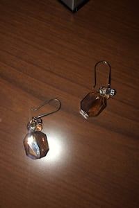 Chrystal earrings never worn Toronto, M9P 2R2