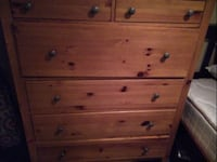 Large Wood dresser Omaha, 68109