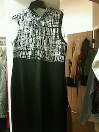 women's black and white sleeveless dress Palm Bay, 32907