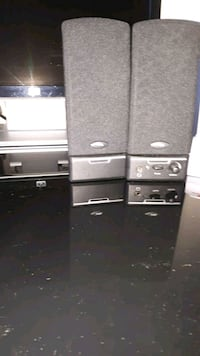 black and gray home theater system Innisfil, L9S 1Y7