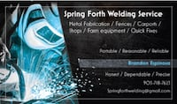 Spring Forth Welding Services Whitesboro