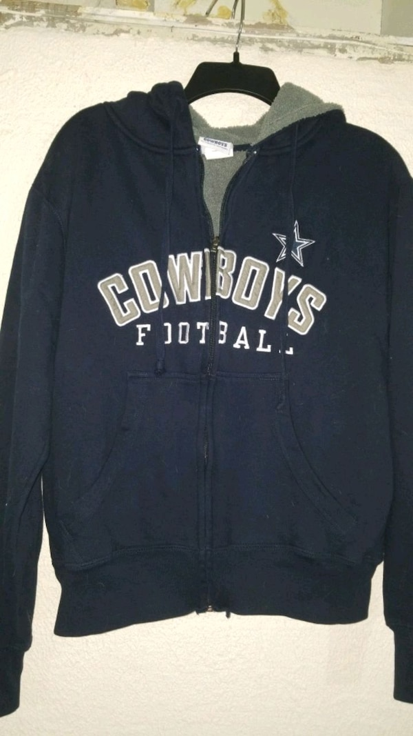 hot sales 8f58a 50c2b Dallas Cowboys fleece lined zip up hoodie