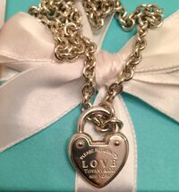 AUTHENTIC Tiffany and Co. RTL Heart Lock Necklace Toronto, M6L 2N8