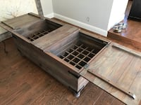 Beautiful coffee table with wine storage Livermore, 94551