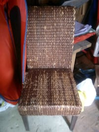 4 set of wicker chairs