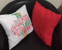 Assorted styles cushions,Christmas,floral and case accents  Miami, 33133