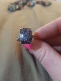 Charoite and Amythyst 925 SS Ring Colorado Springs, 80916