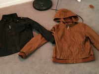 two black and brown leather jackets Prince George, V2L 2R4