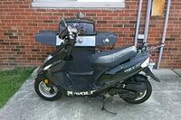 black and gray motor scooter Gaithersburg, 20878
